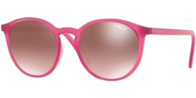 Sluneční brýle Vogue model 5215S, barva obruby růžová lesk, čočka hnědá gradál, kód barevné varianty 2610H8.