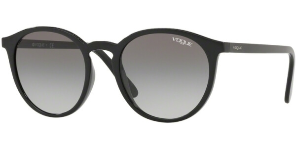 Sluneční brýle Vogue model 5215S, barva obruby černá lesk, čočka šedá gradál, kód barevné varianty W4411.
