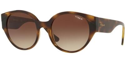 Sluneční brýle Vogue model 5245S, barva obruby hnědá lesk, čočka hnědá gradál, kód barevné varianty W65613.
