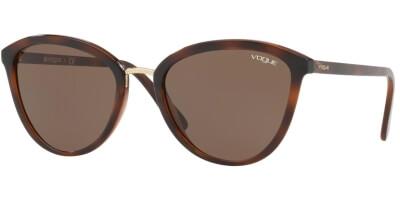 Sluneční brýle Vogue model 5270S, barva obruby hnědá lesk, čočka hnědá, kód barevné varianty 238673.