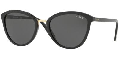 Sluneční brýle Vogue model 5270S, barva obruby černá lesk, čočka šedá, kód barevné varianty W4487.