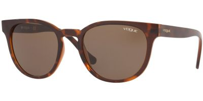 Sluneční brýle Vogue model 5271S, barva obruby hnědá mat, čočka hnědá, kód barevné varianty 238673.