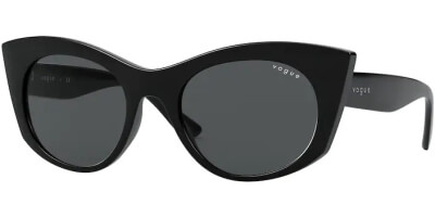 Sluneční brýle Vogue model 5312S, barva obruby černá lesk, čočka šedá, kód barevné varianty W4487.