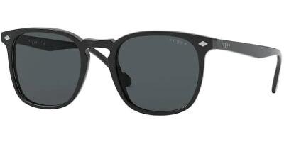 Sluneční brýle Vogue model 5328S, barva obruby černá lesk, čočka šedá, kód barevné varianty W4487.