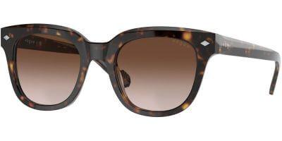 Sluneční brýle Vogue model 5408S, barva obruby hnědá lesk, čočka hnědá gradál, kód barevné varianty W65613.