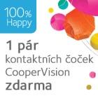 Vyzkoušejte čočky CooperVision