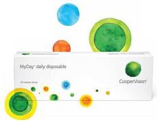 Vyzkoušejte čočky MyDay za polovinu