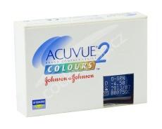 Acuvue 2 Colours - krycí (2 čočky) - dioptrické