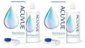 Roztok Acuvue RevitaLens 2 x 360ml s pouzdrem