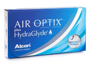 Air Optix plus HydraGlyde (6 čoček)