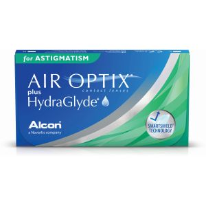 Air Optix plus HydraGlyde for Astigmatism (3 čoček)