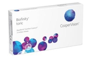 Biofinity Toric (3 čočky)