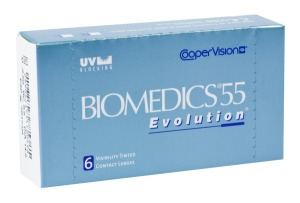 Biomedics 55 Evolution (6 čoček)