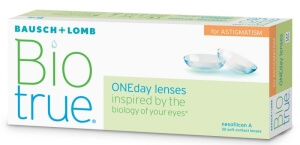 Biotrue ONEday for Astigmatism (30 čoček)