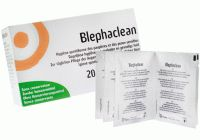 Blephaclean - tampony pro hygienu očí