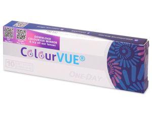 Crazy čočky ColourVue Trublends One-Day Rainbow (10 čočky) - nedioptrické