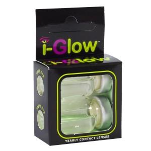 Crazy čočky i-Glow roční UV svítící (2 čočky) - nedioptrické