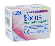 Focus Softcolors (6 čoček) - nedioptrické