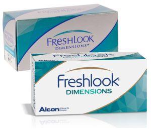 FreshLook Dimensions (2 čočky) - nedioptrické