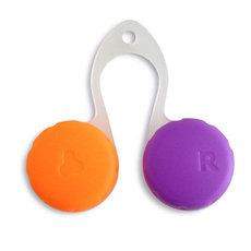Pouzdro KabaClip - oranžovo-fialové