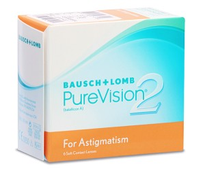 PureVision 2 HD for Astigmatism (6 čoček)