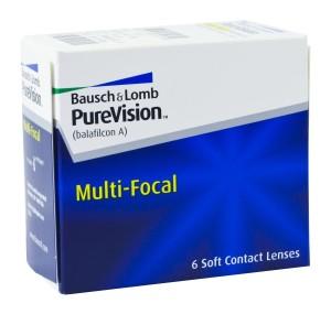 PureVision Multifocal (6 čoček)