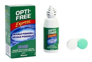 Roztok OPTI-FREE 120ml s pouzdrem