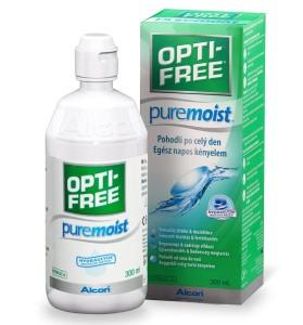 Roztok OPTI-FREE PureMoist 300ml s pouzdrem