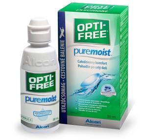 Roztok OPTI-FREE PureMoist 90ml s pouzdrem