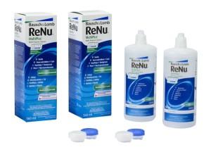 Roztok ReNu MultiPlus 2 x 360ml s pouzdry