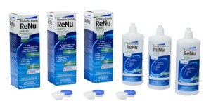 Roztok ReNu MultiPlus 3 x 360ml s pouzdry