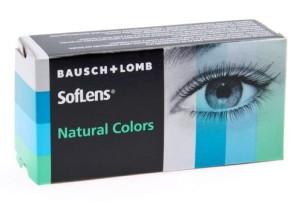SofLens Natural Colors - nedioptrické (2 čočky)