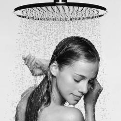 sprchování v čočkách
