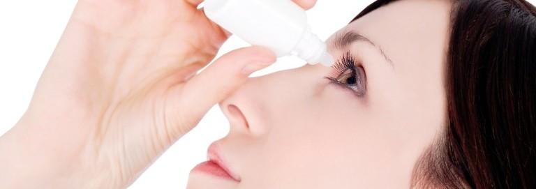 kapky vhodné na suché oči